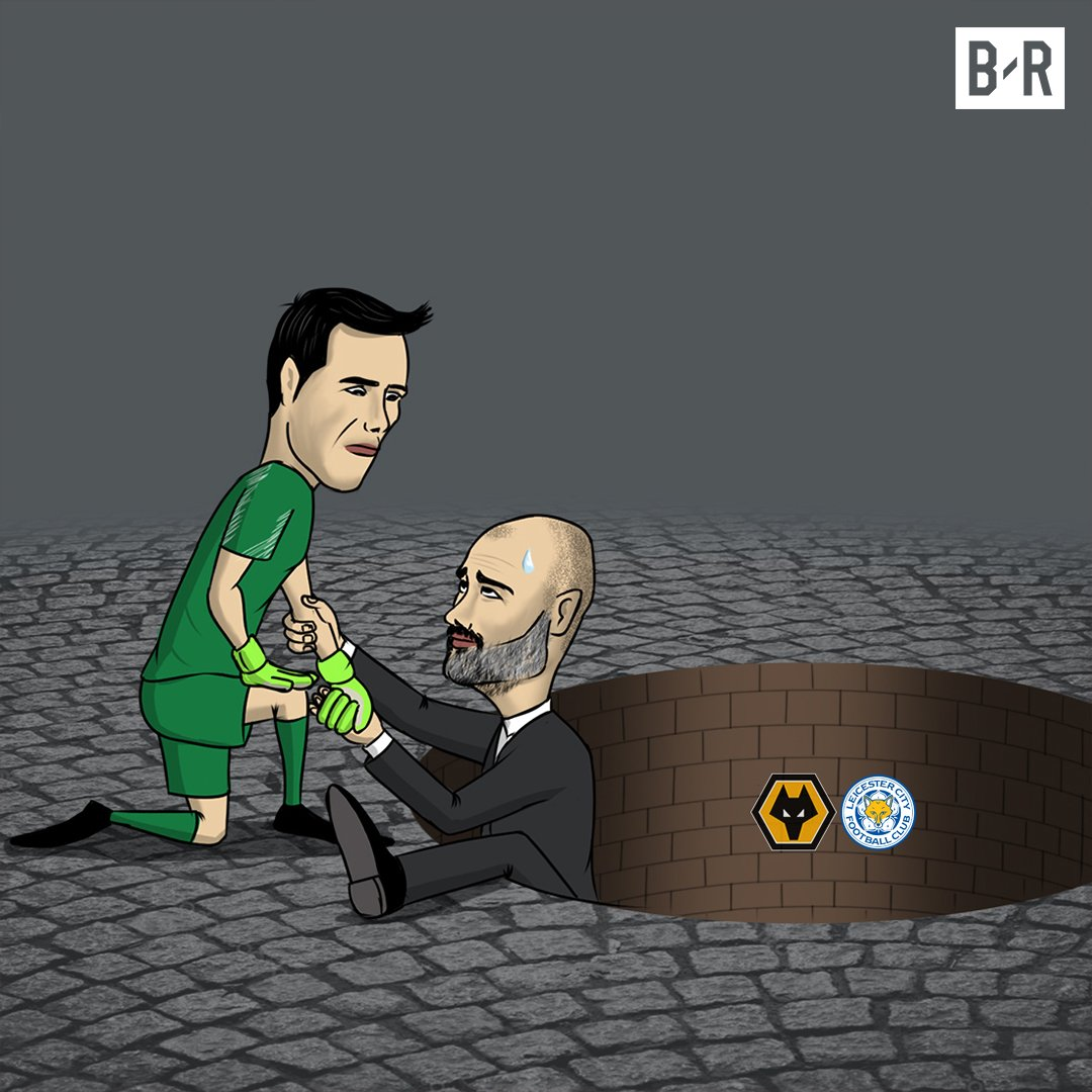 Claudio Bravo helps Pep out of a hole in the League Cup again ✋ https://t.co/xaZz4akm7x