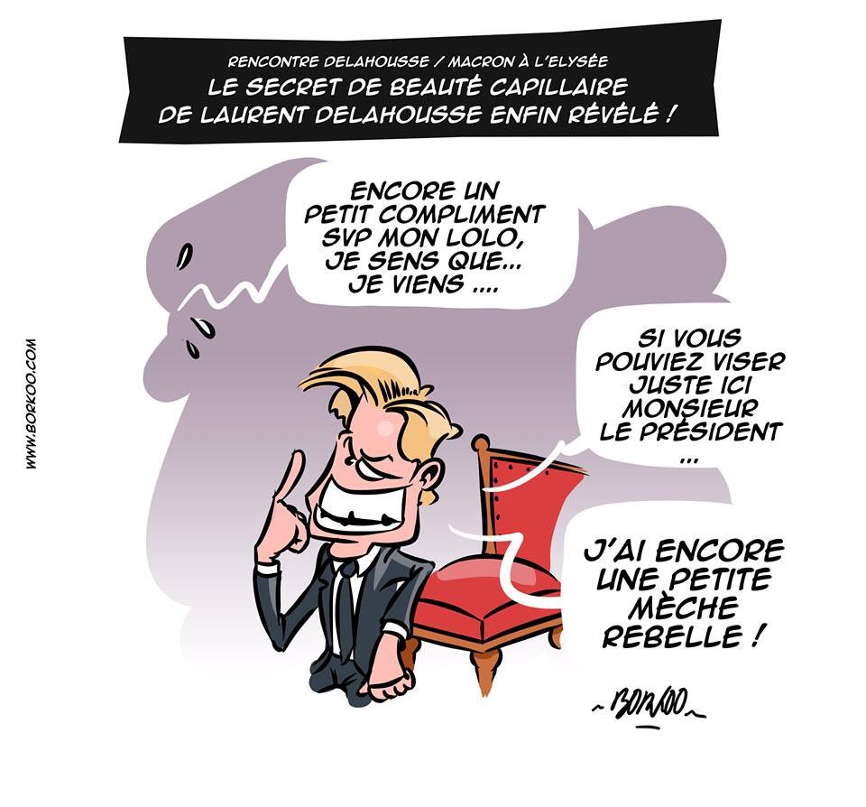 #Macron20HWE #Macron #Delahousse