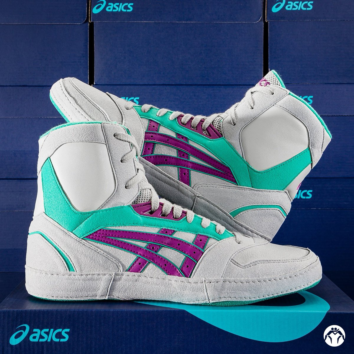 purple lyte wrestling shoes