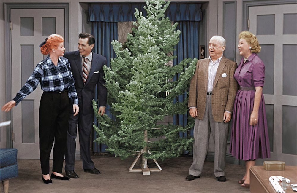 this friday gather around the tree and celebrate the holidays with lucille ball watch - I Love Lucy Christmas Special