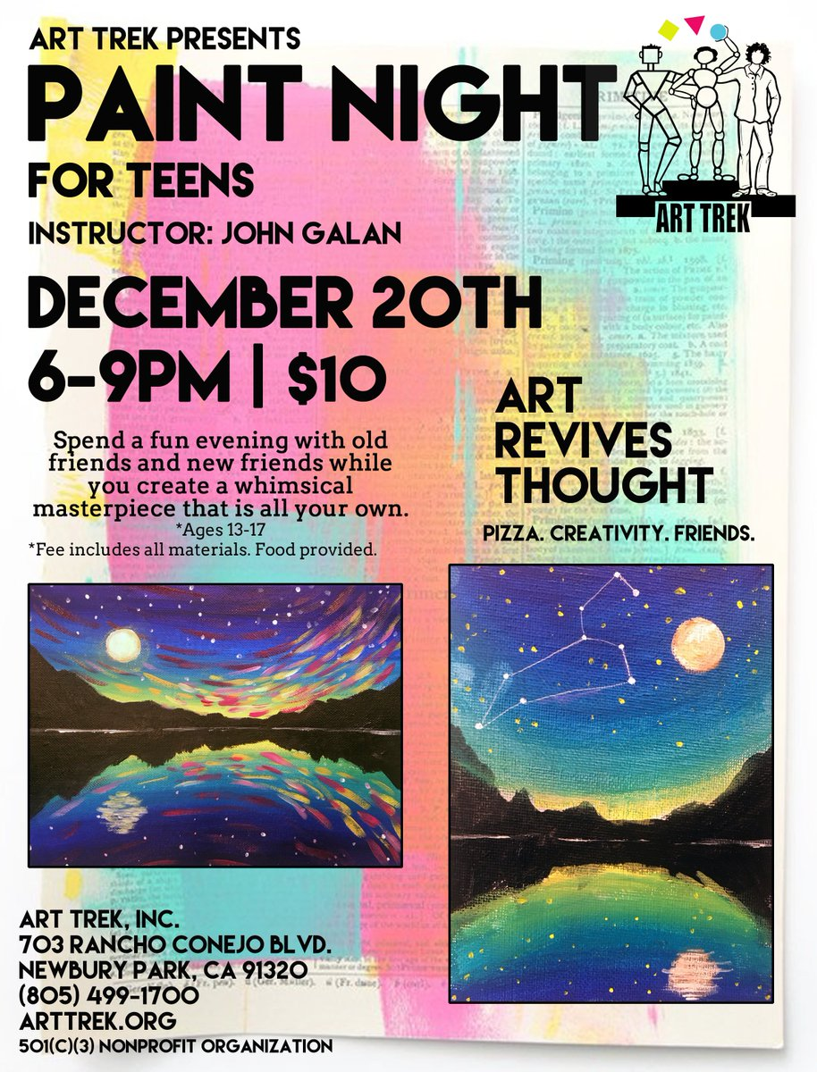 Inc teen art night 9