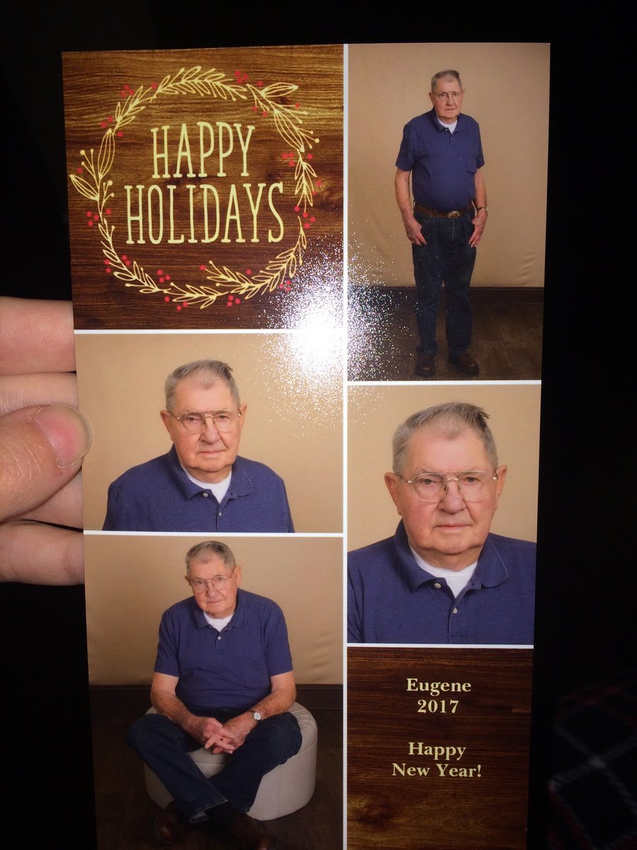 kayla kristi on twitter yall my great grandpa had professional pictures taken of himself for christmas cards - A Grandpa For Christmas