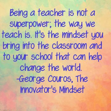 It is not what you do but how you do it. #InnovatorsMindset