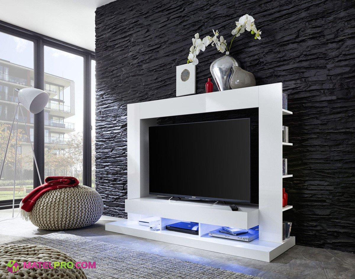 Matelpro Com On Twitter Un Meuble Tv Design Aux Lignes Pur Es  # Matelpro Meuble Tv