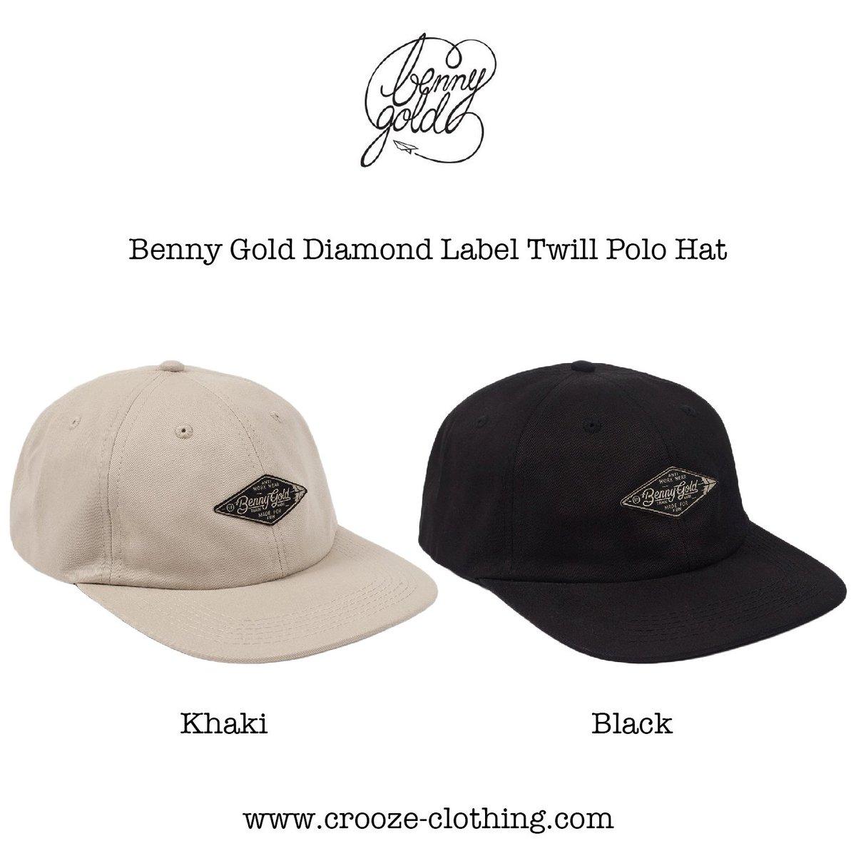 d14dd089bcd Benny Gold Diamond Label Twill Polo Hat - Online  http   www.crooze-clothing.com  営業時間  平日 14 00-21 00 週末 13 00-21 00   bennygold  sanfrancisco ...