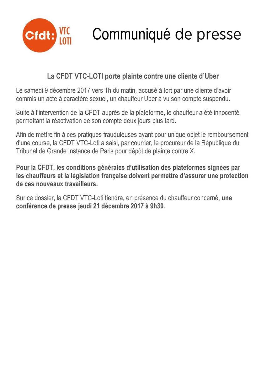Cfdt Vtc On Twitter Medias Afin D Etablir Une Protection