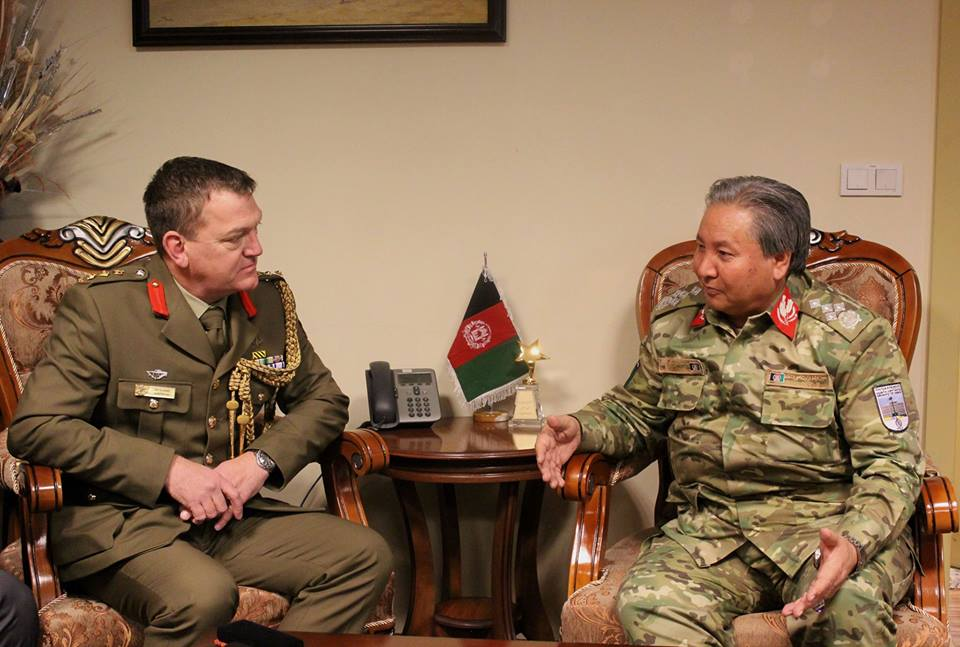 Great discussion with GEN Murad @moiafghanistan on #Australia's support for the #Afghan National Defense and Security Forces, including through provision of Australian-designed counter-IED technology