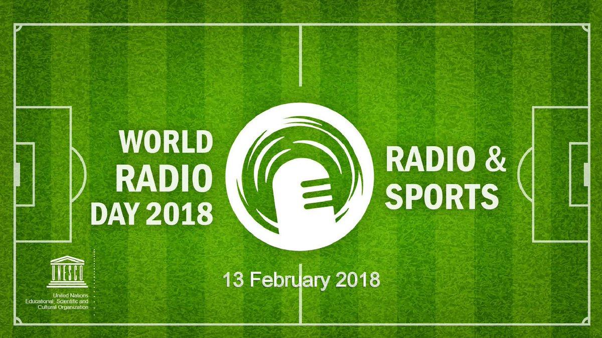 Тема Всемирного дня радио-2018 Радио и спорт. #WorldRadioDay diamundialradio.org
