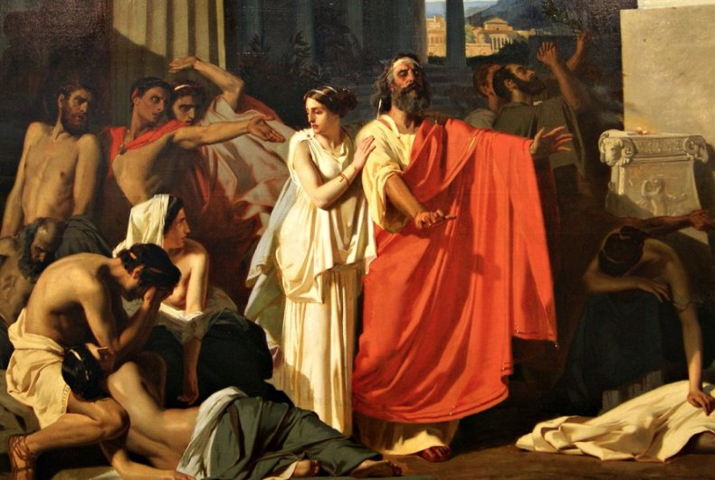 an analysis of the conflict in the tragedy antigone Antigone makes for more than just an analysis of the conflict in the tragedy antigone a compelling drama 15-6-2017.