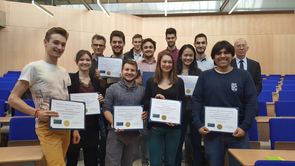 Iscea On Twitter Congratulations To These Students At Ecam Lyon