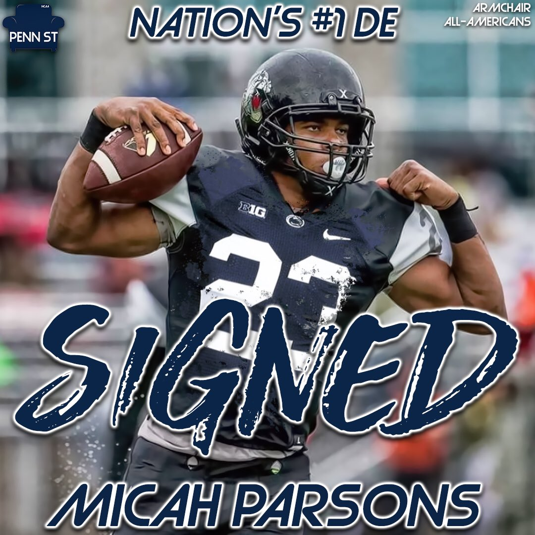Nittany Lions commit confident 5-star DE Micah Parsons will return to class