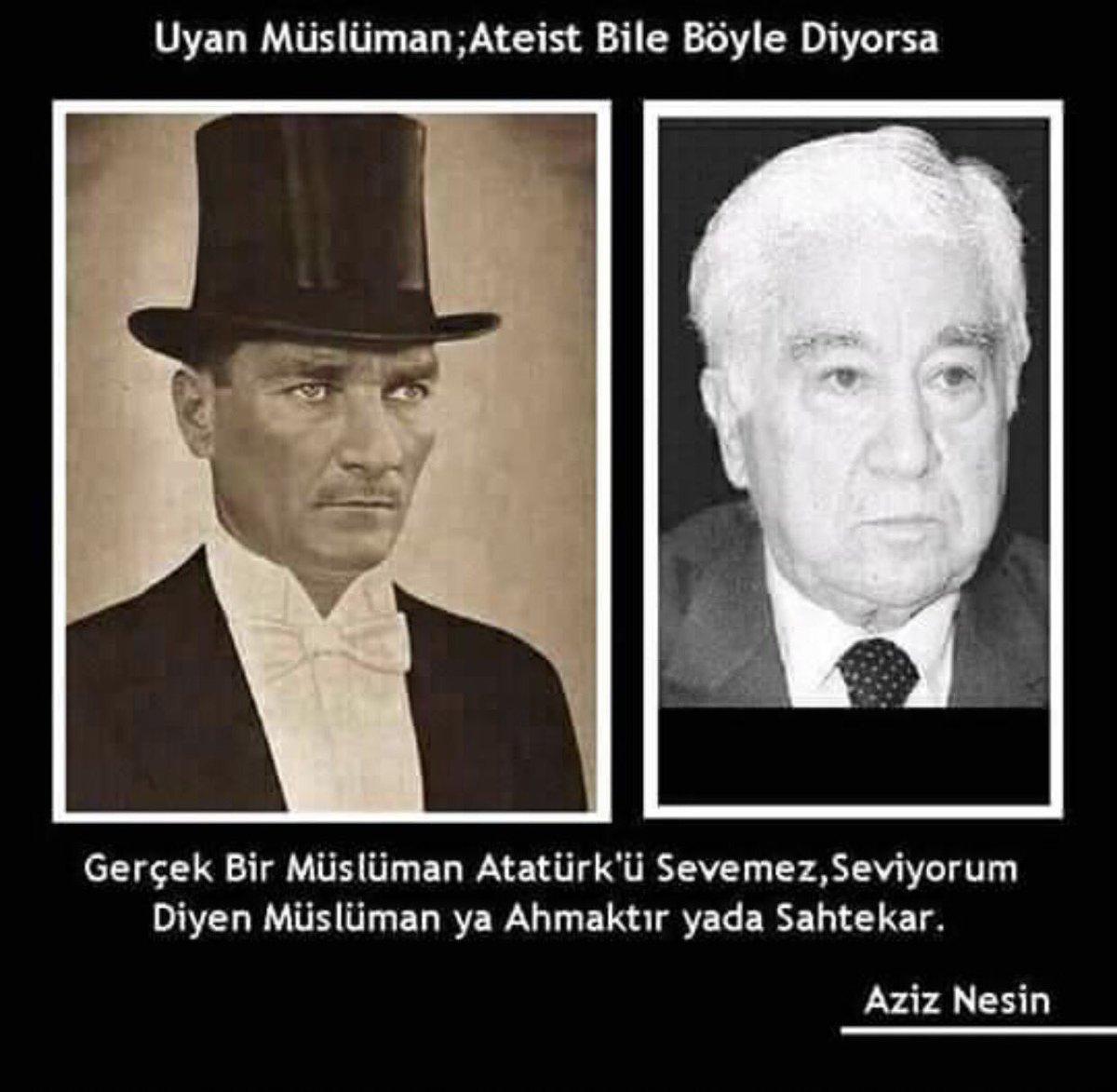 Kemal ökten Su Twitter Aziz Nesin Atatürk Müslümanlar Açısından