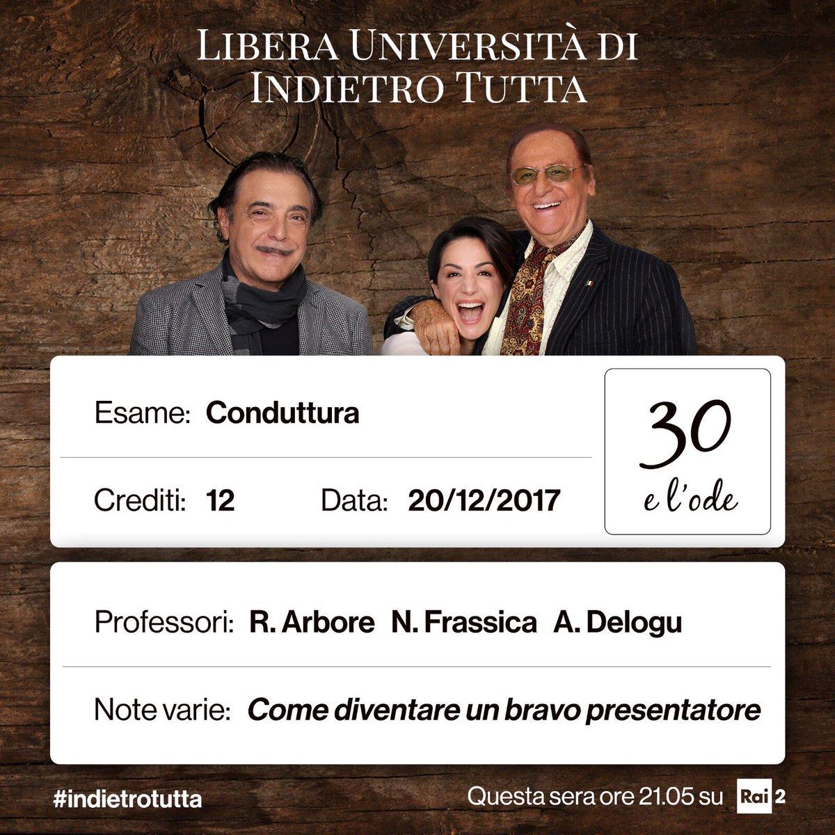 LIVEBLOGGING 20 DICEMBRE 2017 INDIETRO TUTTA