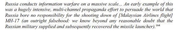 SIS (aka MI6) on #MH17 to the UK parliament's Intelligence and Security Commitee