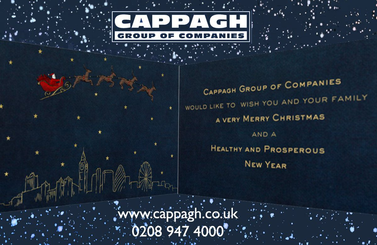 Cappagh On Twitter Seasons Greetings To All Our Customers