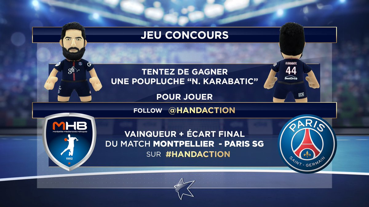 RT @HandAction: A vous de jouer ! @TomVillechaize @FXHoulet #LNH @psghand @NKARABATIC #beINSPORTS  #handaction https://t.co/ivqc6SU34m