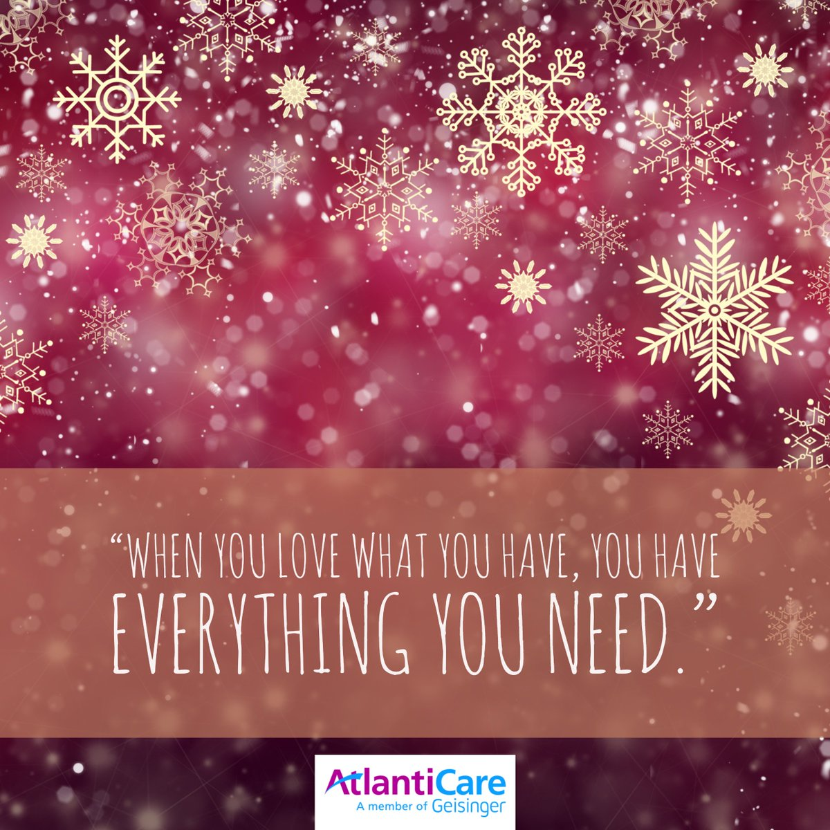 Atlanticare on twitter seasons greetings on this wisdom atlanticare on twitter seasons greetings on this wisdom wednesday as we all enjoy the holiday season we hope you can take a moment to be thankful for kristyandbryce Images