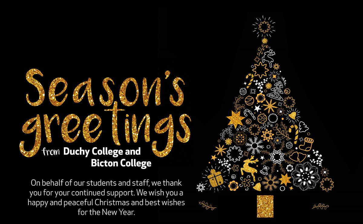 Bicton college on twitter seasons greetings from everyone at if you have any questions email customerrvicesbicton and well get in touch as soon as we get backpicitter67egzmpfgj kristyandbryce Images