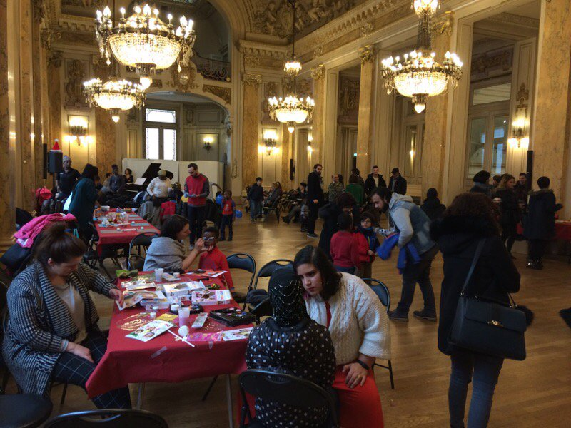@mairie18paris 200 enfants hébergés par...