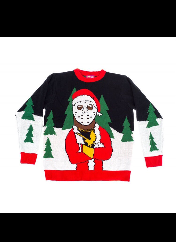 Ghostface ugly Christmas sweaters... | Sports, Hip Hop & Piff - The Coli