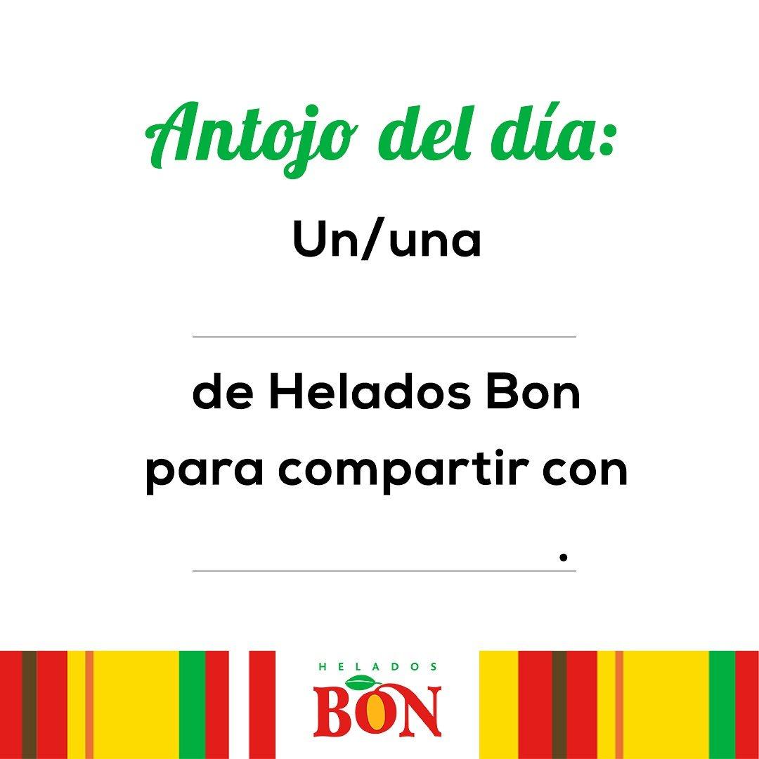 Helados Bon Rd On Twitter Completa La Frase Bonamante