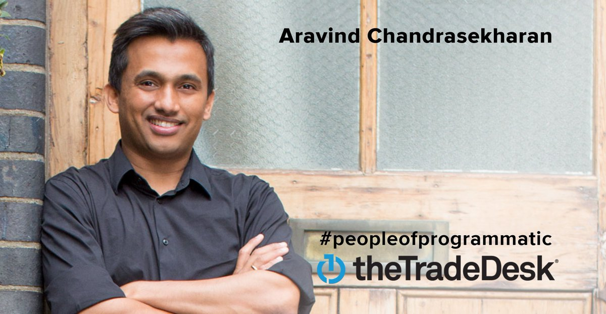 The Trade Desk Offers Opportunities Around The World. Learn The  Ins And Outs Of How Aravind Chandrasekharan, Principal Lead Software  Engineer At #TTD, ...