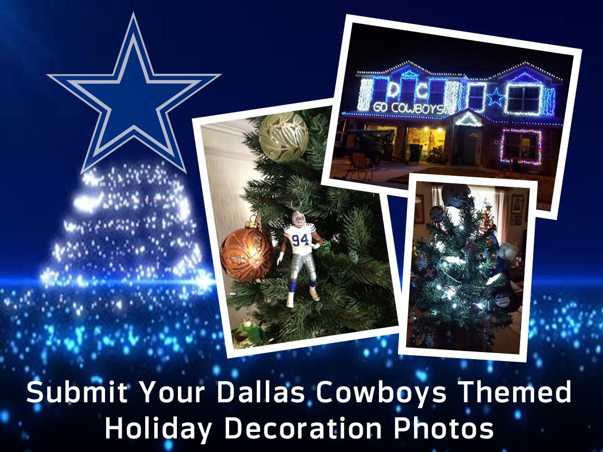 cowboysnation we want to see how youre showing your dallascowboys spirit with your holiday decorations send us your photos here httpbitly2ku3q5b