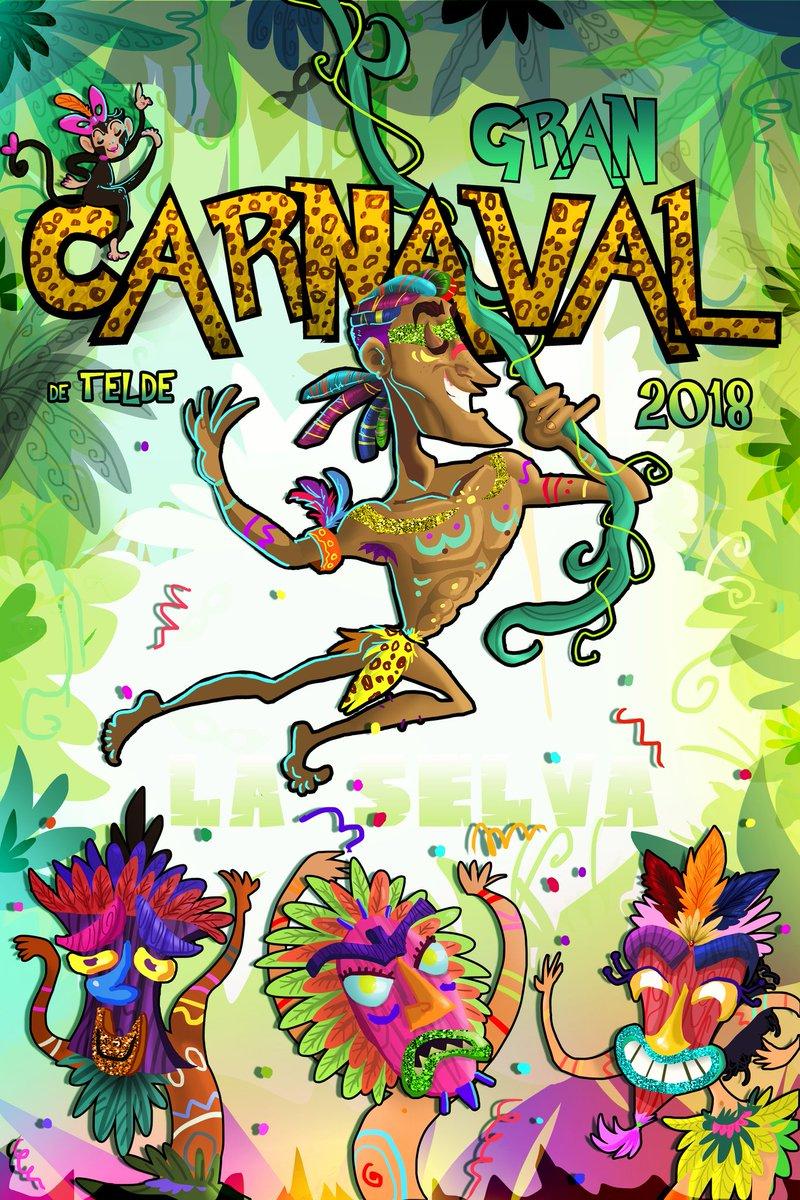 Resultado de imagen de jonas emanuel cartel telde carnaval 2018