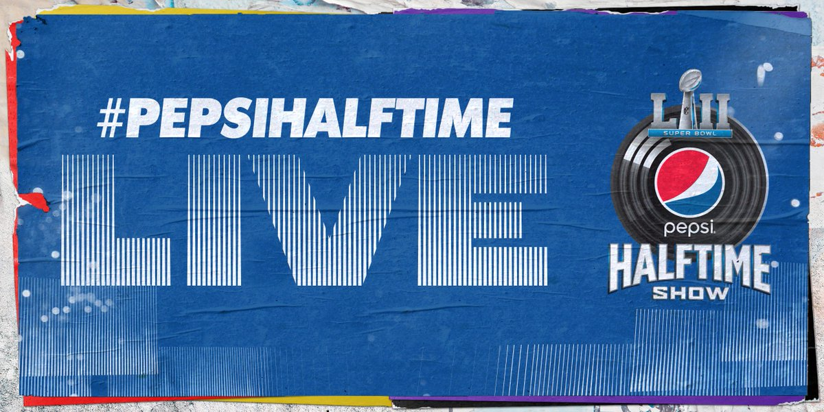 Last chance to see me UP CLOSE performing at #SBLII #PepsiHalftimeLive! RT for a chance to win SIDELINES PASSES  from @pepsi to  in Minneapolis Feb 4th  #Sweepstakeshttps://t.co/B7lDVsqdVt
