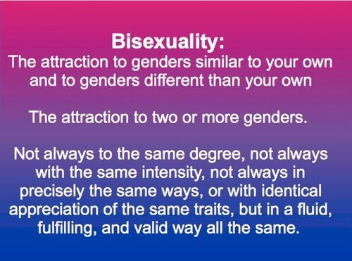 Bisexualism meaning