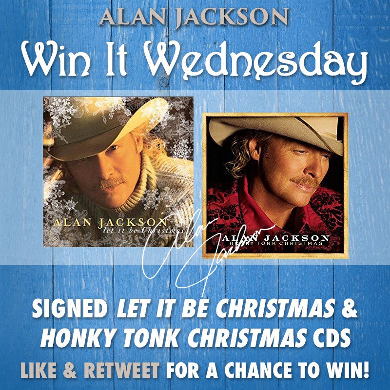 0 replies 2 retweets 3 likes - Alan Jackson Honky Tonk Christmas