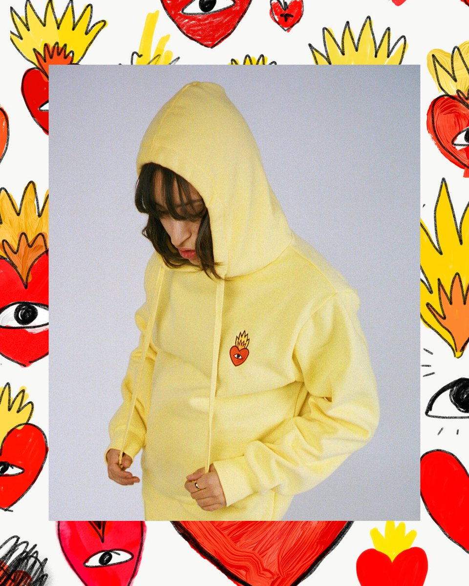 f9e4687ce624 First Flaming Heart Essentials drop will be available Thursday 12PM (Spain  time) ❤️