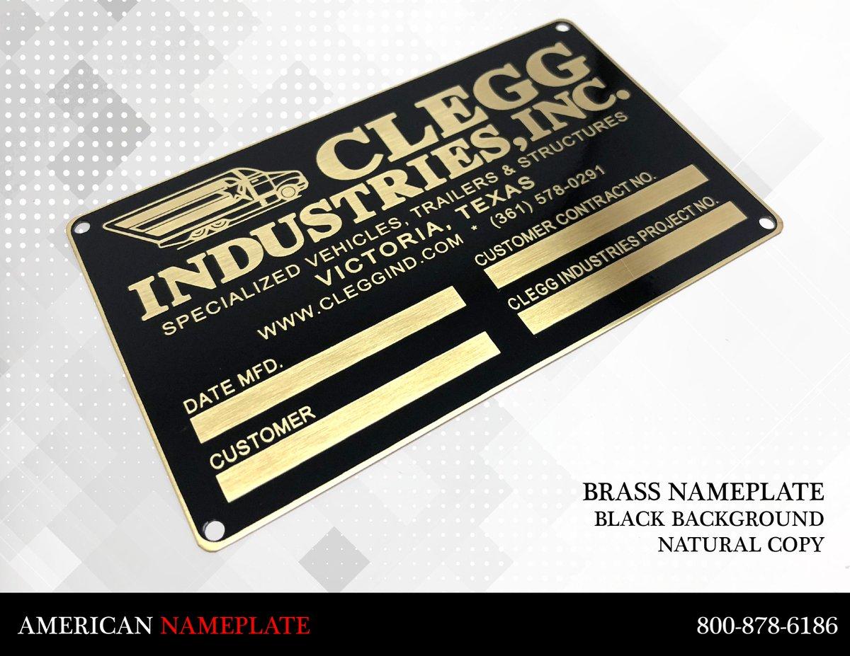 Hasil gambar untuk industrial nameplate