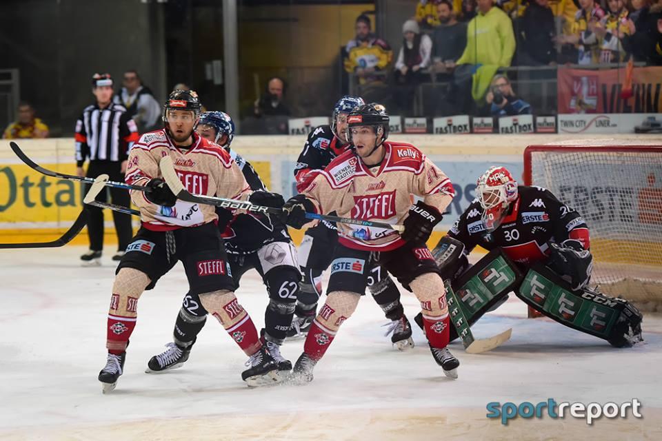 Eishockey, EBEL, Erste Bank Eishockey Liga, Vienna Capitals, Albert-Schultz-Eishalle, #VICHCI, HC Innsbruck, Vienna Capitals vs. HC Innsbruck