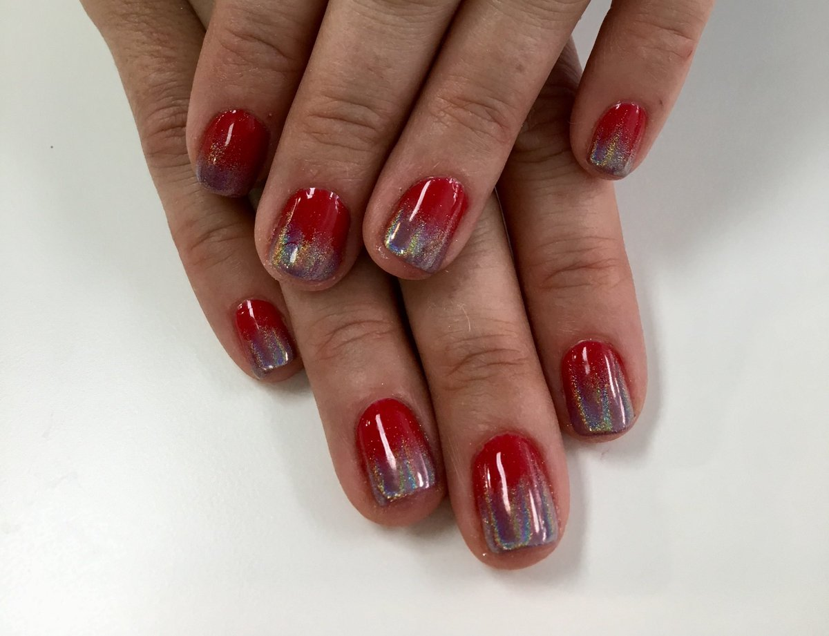 Red Ombre Nails Christmas.My Toronto Scoop On Twitter Obsessed With My Christmas