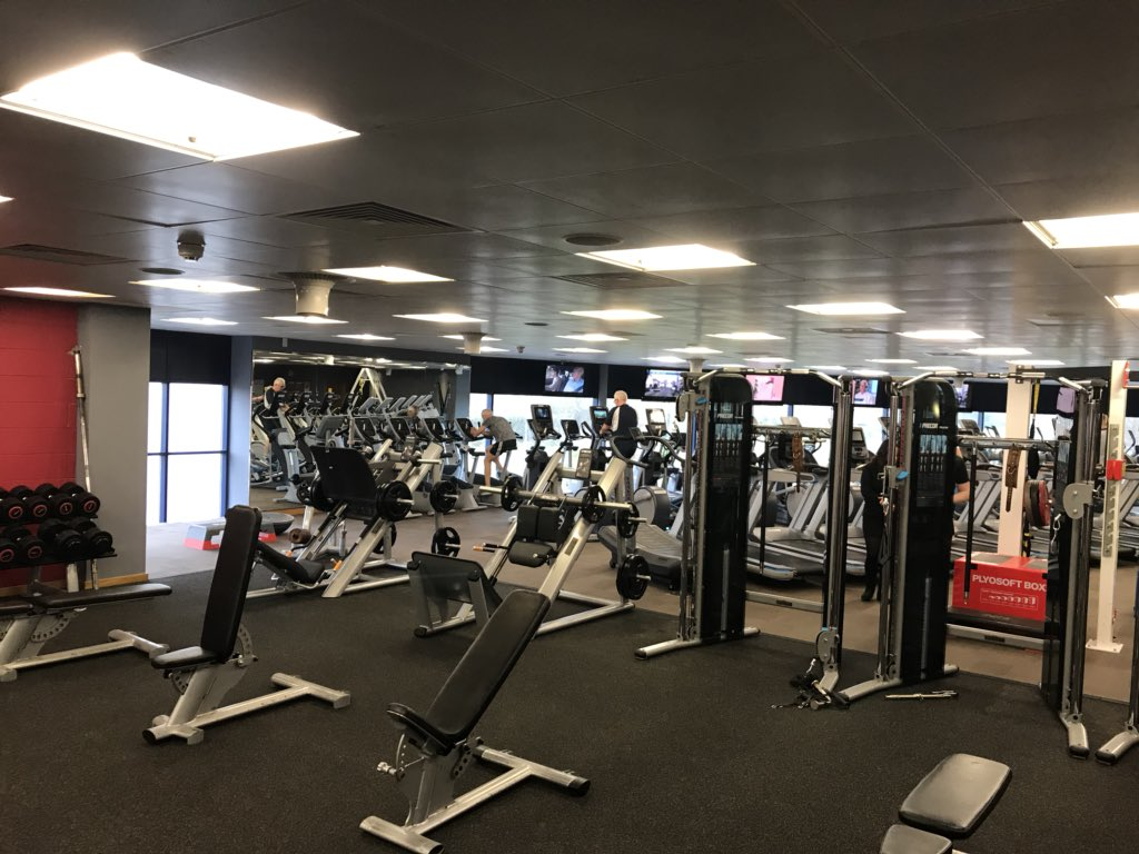 ... of your gym programme! Book in today for a FREE review! Let us help you  achieve your fitness goals! Phone 01722 330077 and book today!
