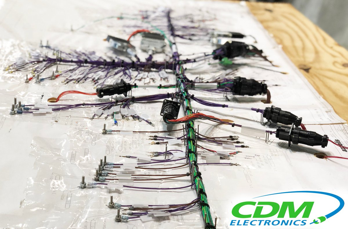 Increasingly complex wiring harnesses demand precision, commitment to  quality and an expert's touch – rely on CDM for your next harness build!