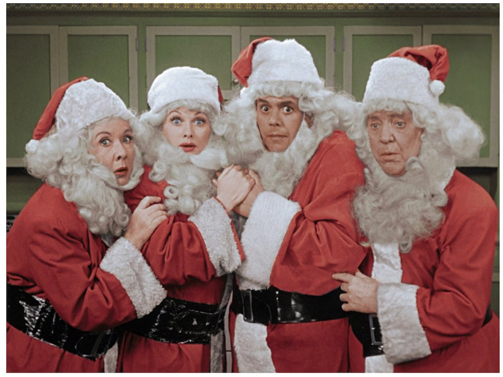 episodes of the classic sitcom during the i love lucy christmas special tune in friday at 87c on cbs and cbs all accesspictwittercomc5bb87cov7