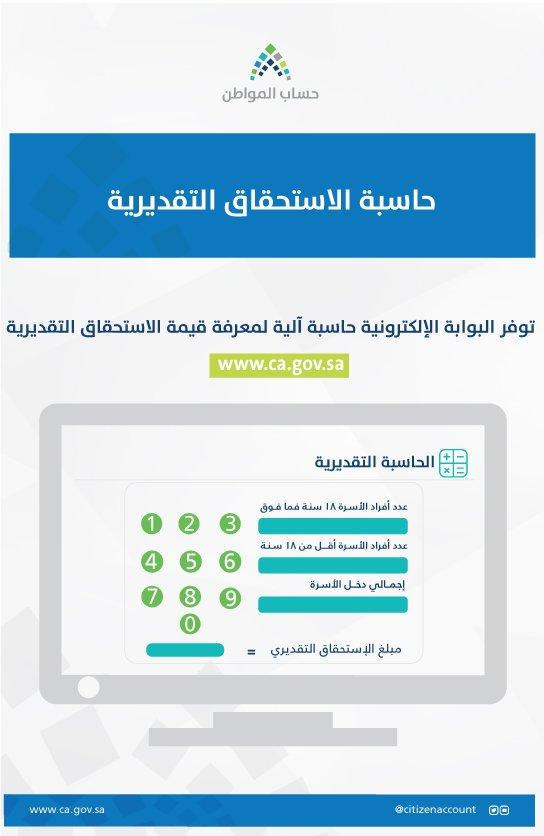 حساب المواطن: كيفية حساب الاستحقاق التقديري وكيفية اعتراض على قيمة الاستحقاق للمستفيدين (فيديو ) 1 15/3/2018 - 8:00 ص