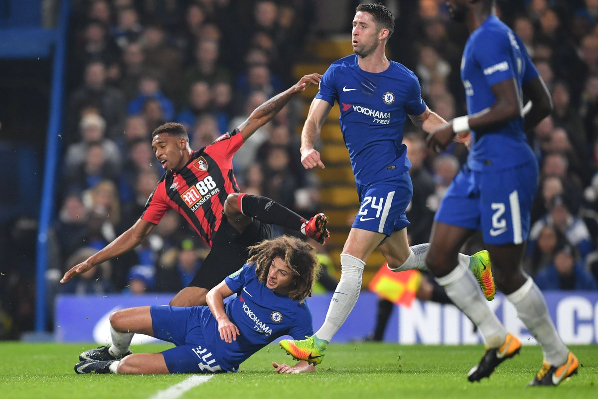 Chelsea 2-1 AFC Bournemouth Highlights