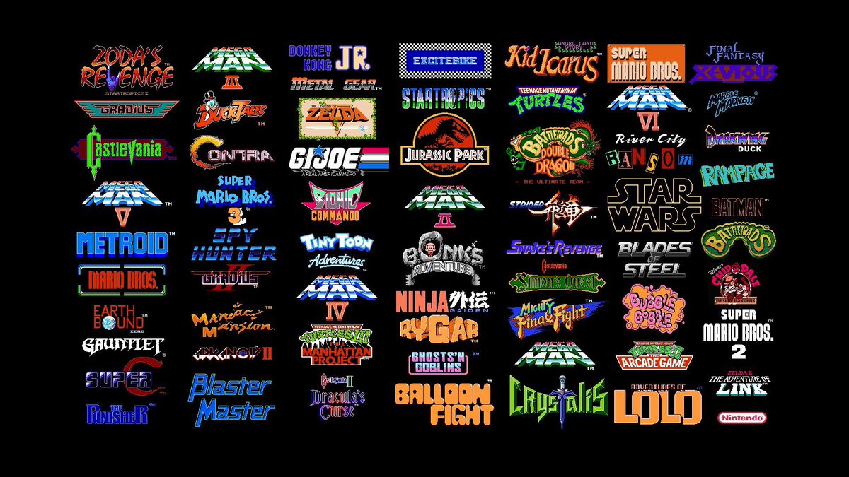 Little Guy Design On Twitter How Many Of These Retro Video Games Have You Played Awesome Logos And Branding Even If You Knew Nothing Of A Brand Or Game A Great Logo