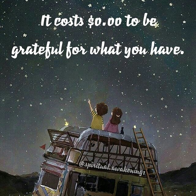 It costs $0.00 to be grateful for what you have. #thankful #grateful #thankfulquotes #gratefulquotes  #positivevibes<br>http://pic.twitter.com/D55nYl9c5D