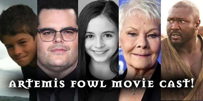 Artemis Fowl On Twitter Artemis Fowl Holly Short Actors Found
