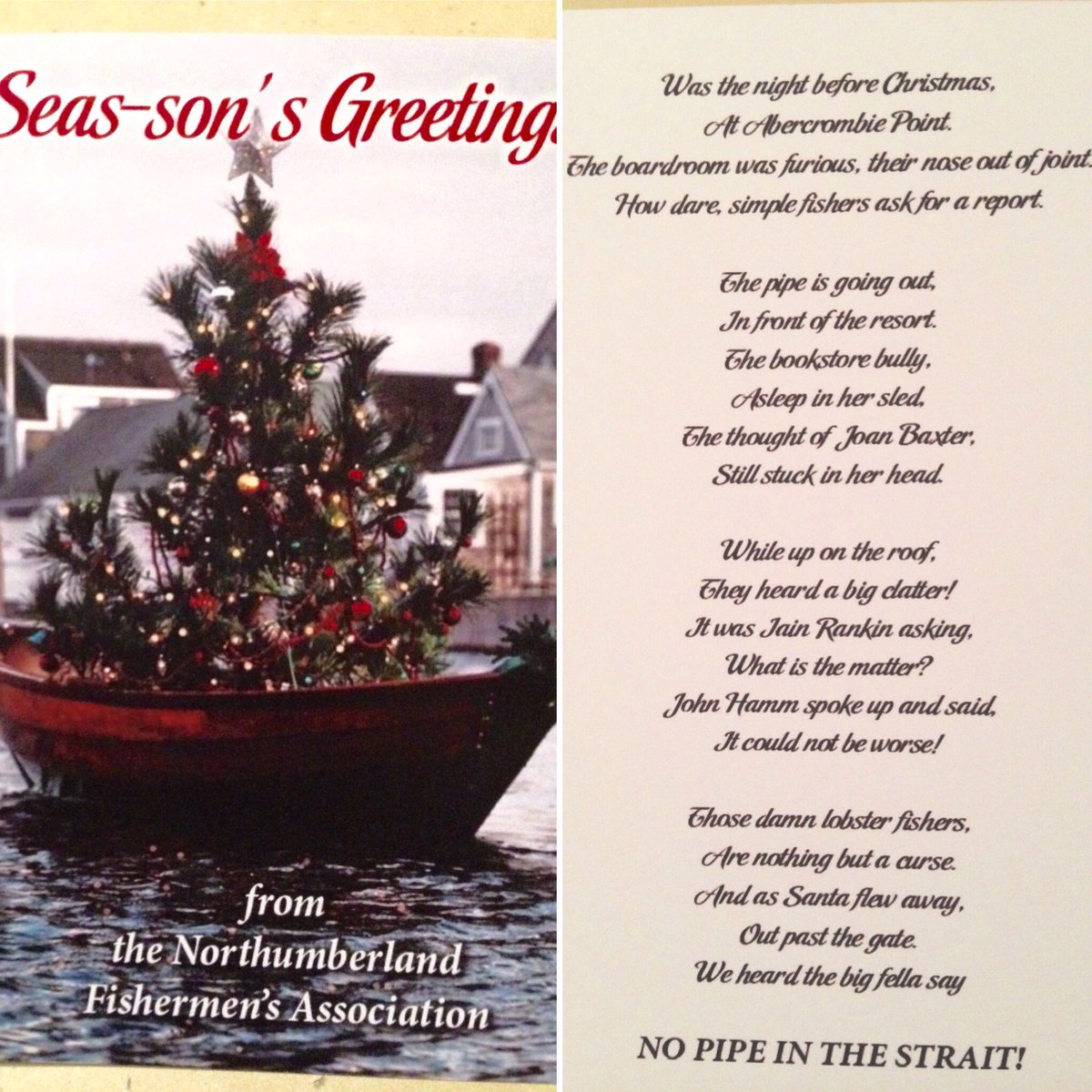 Christmas Point Baxter.Raymond Plourde On Twitter Wicked Xmas Card From