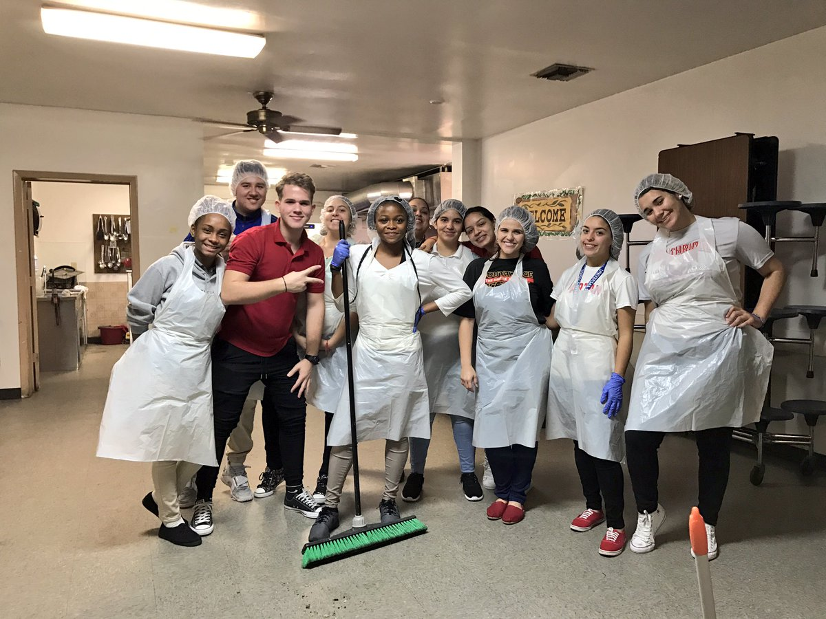 Lunch Time Done At The Homestead Soup Kitchen! Giving Back To Those Less  Fortunate And Wishing Everyone A Happy Holiday Season!