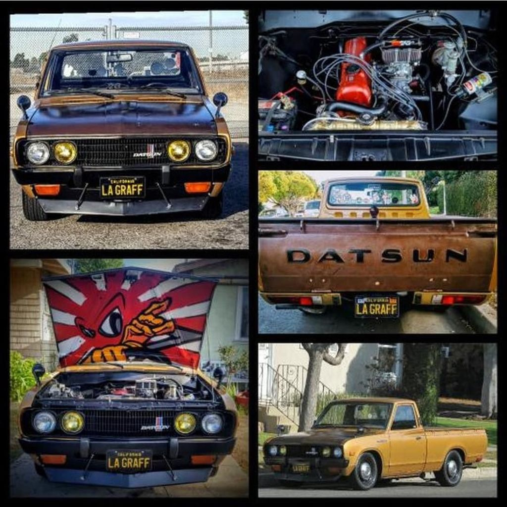 Datsun Garage On Twitter At Pablobluecrew Here With His 1973