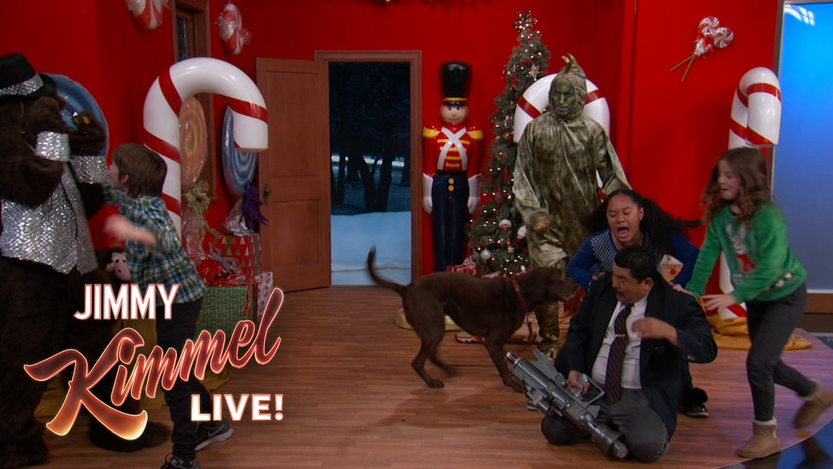 Jimmy Kimmel Christmas.Jimmy Kimmel Live On Twitter Keep Chaos From Breaking Out