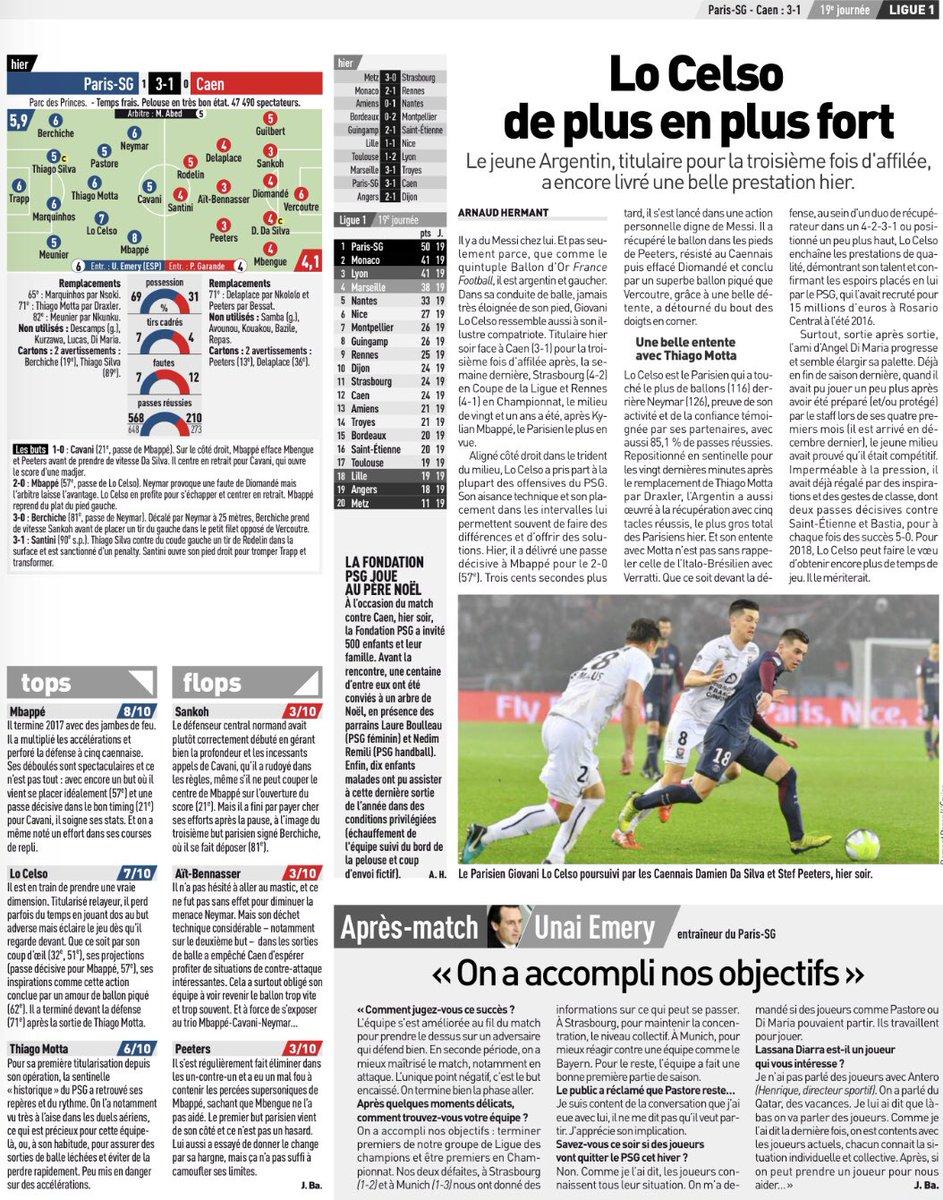 [19e journée de L1] Paris SG 3-1 SM Caen DRhx9j1WkAACmwS