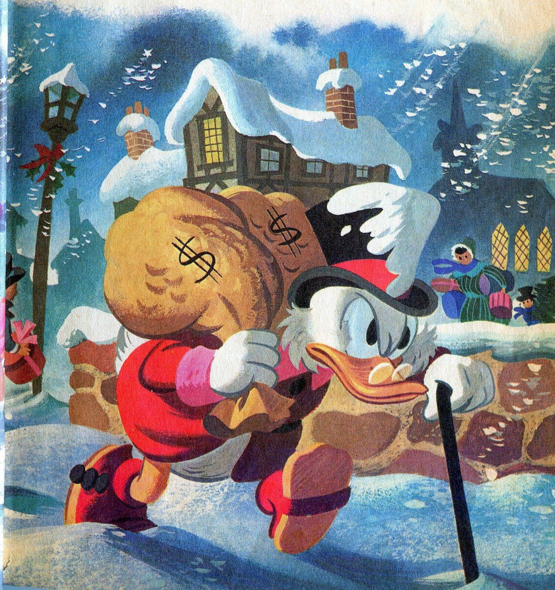 Scrooge Mcduck Christmas Carol.Tales From Weirdland On Twitter Scrooge Mcduck From The