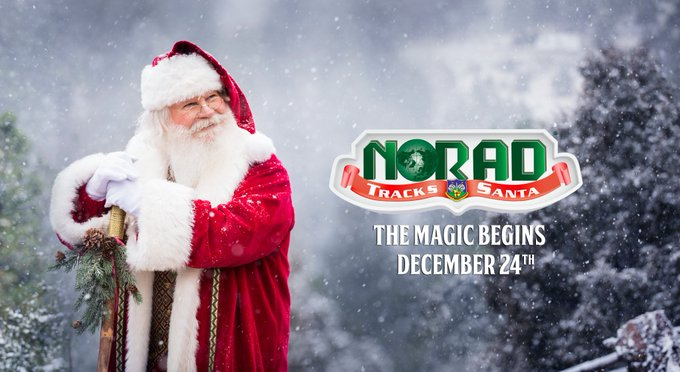 NORAD Helps Kids To Track Santa Claus